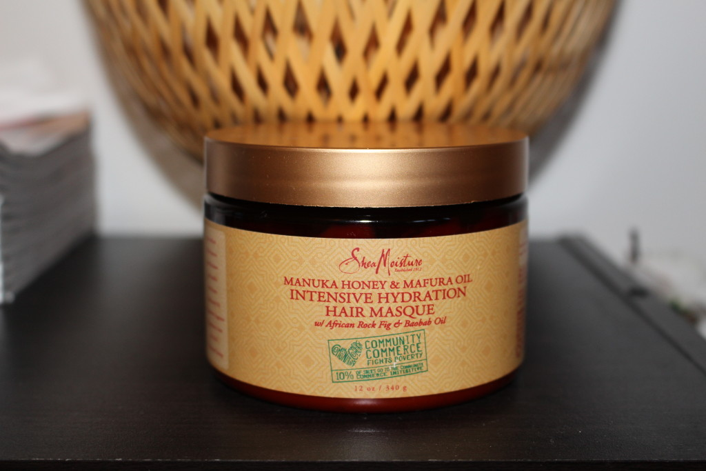 Shea Moisture Manuka honey matura oil masque