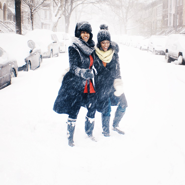 Snow Day Sisters New York City