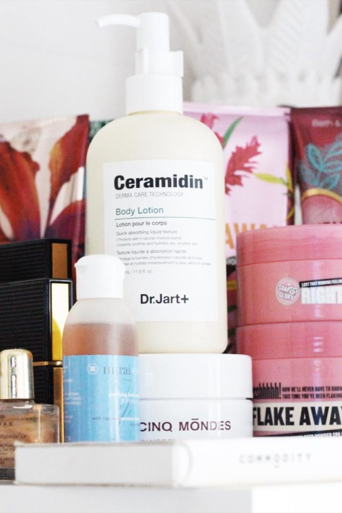 Decluttering My Body Care