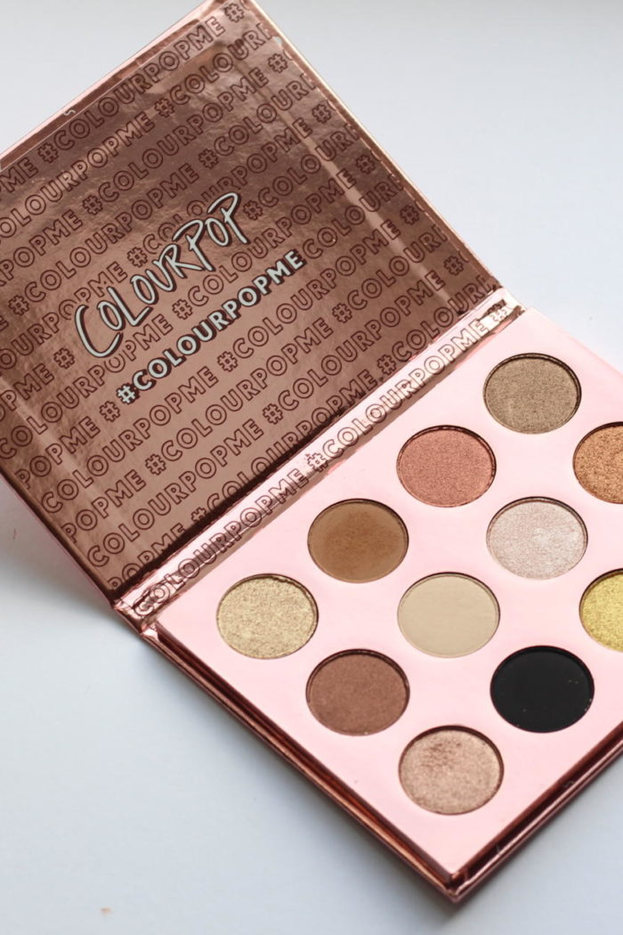 Review: Colour Pop I Think I Love You Eyeshadow Palette