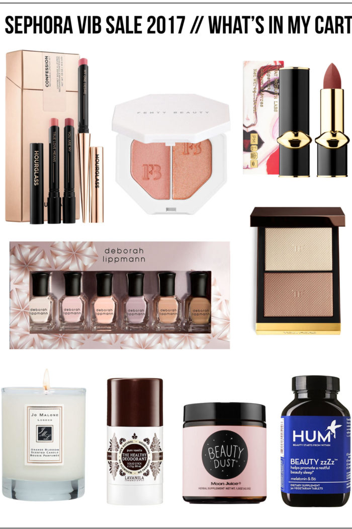 Sephora VIB Sale 2017 – What's in My Cart