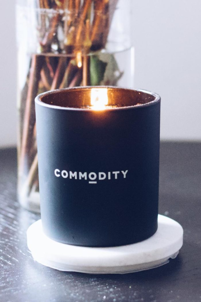 It's Lit: Commodity Fragrances Book Candle