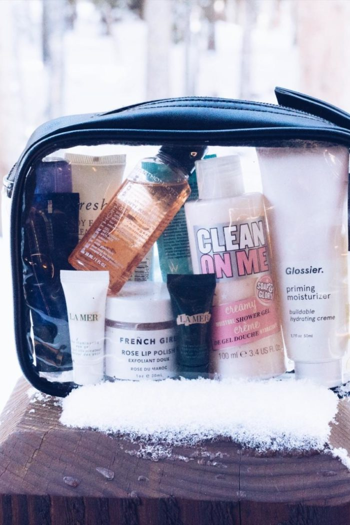 What I Packed for My Winter Vacation | Beauty