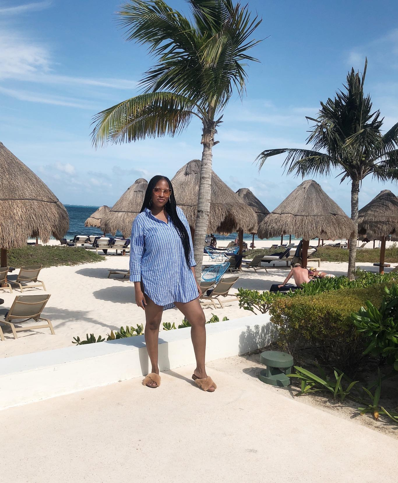 What I Wore Cancun Mexico