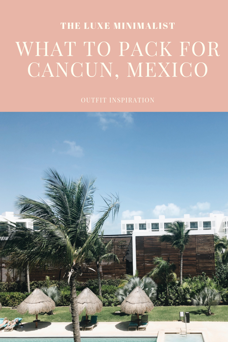 What to pack for cancun, mexico