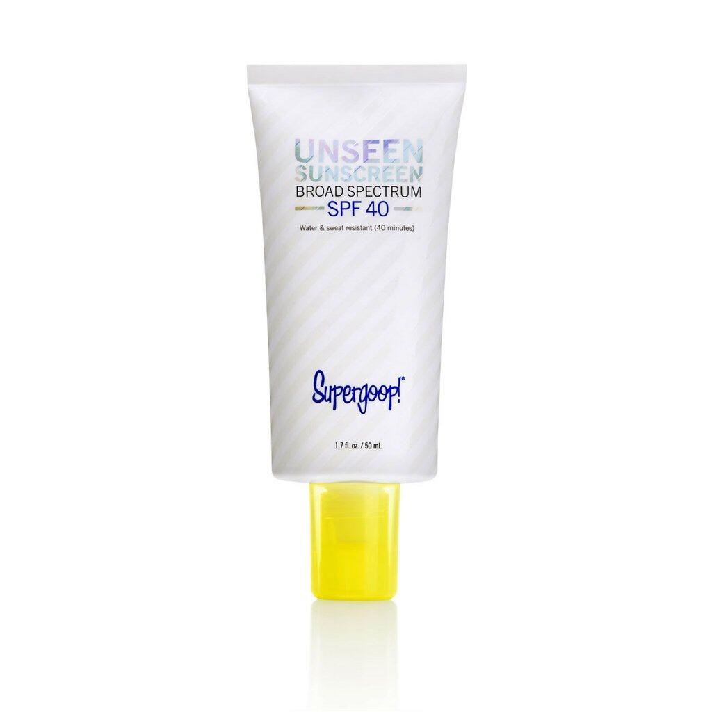 Supergoop Unseen Sunscreen Brown Skin