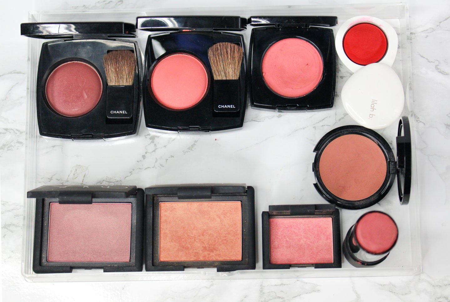 Blush-Declutter-2018-Nars-Chanel-Make-Up-For-Ever