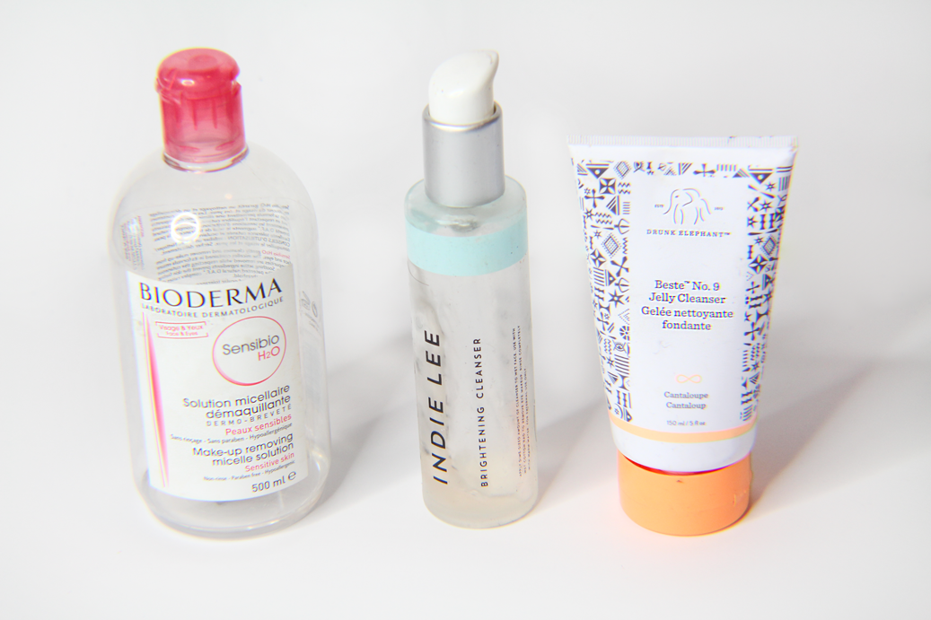 Beauty Empties Bioderma Indie Lee Brightening Cleanser Drunk Elephant Beste Jelly Cleanser