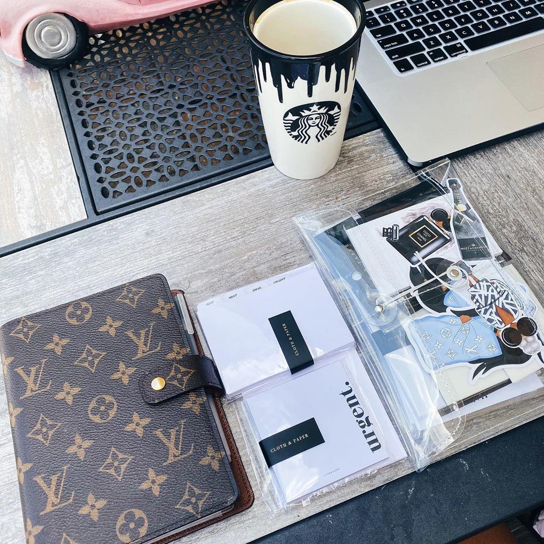 2020 Agenda Setup Louis Vuitton Monogram MM