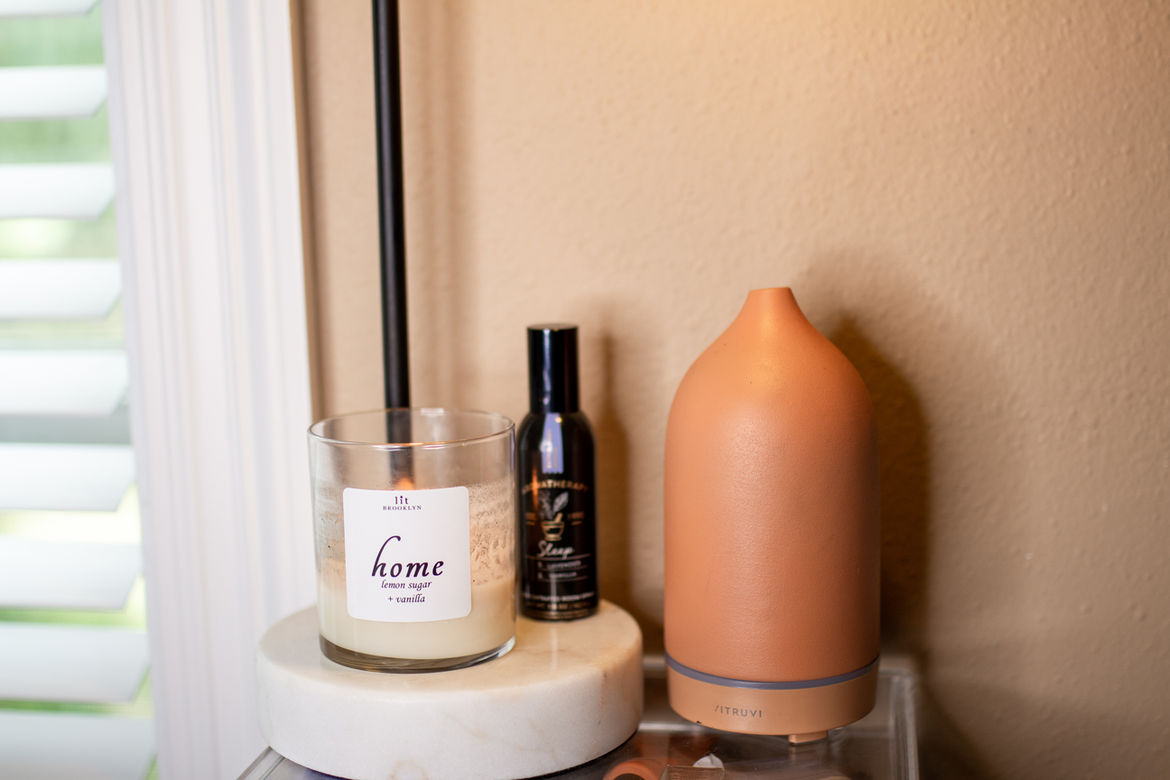 At-Home Spa Day Essentials: Candles & Diffuser