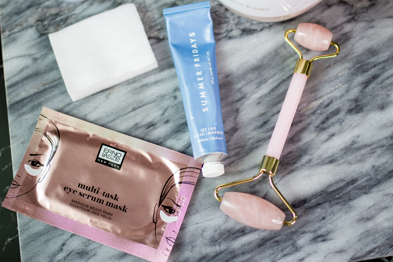 At-Home Spa Day Essentials: Jade Roller and Face and Eye Mask