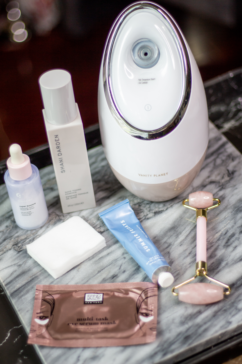 At-Home Spa Day Essentials: Vanity Planet Facial Steamer