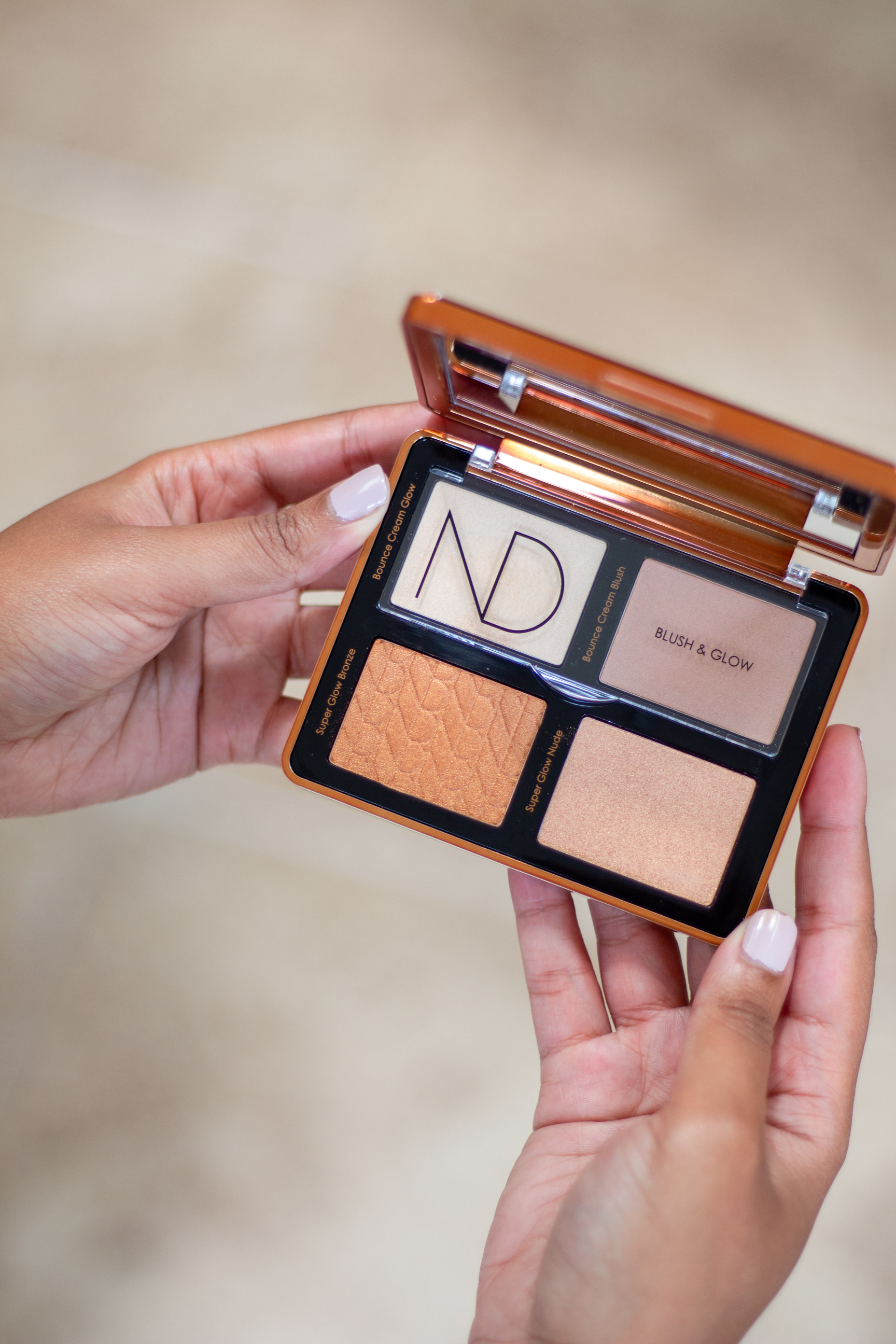Natasha Denona Bronze Cheek Face Glow Palette Review
